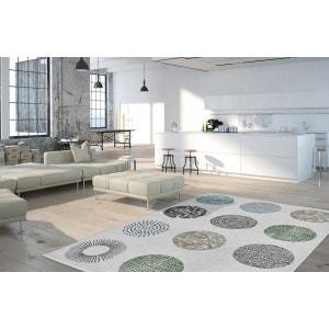Tapis design blanc pour salon Dario DELADECO