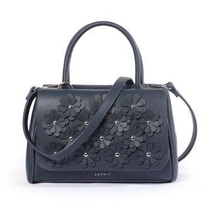 Handtasche, Blumen-Applikationen ESPRIT