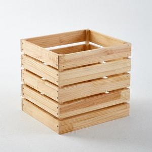 Caixa de arrumação em pinho maciço, Hiba La Redoute Interieurs
