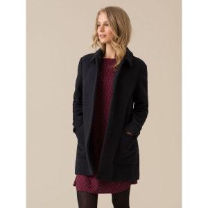 Manteau pardessus femme laine bouillie, IMLAC SOMEWHERE