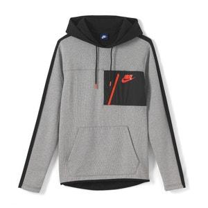 Bicolor sweater met kap NIKE