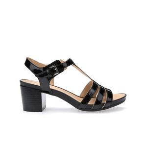 Sandálias com tacão D Symi C GEOX