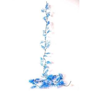 Guirlande de 60 Herbe de Corail Bleue artificielles plastique L 180 cm - choisissez votre coloris: Bleu ARTIF-DECO