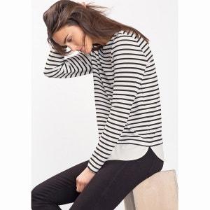 Tee-shirt manches longues marinière ESPRIT