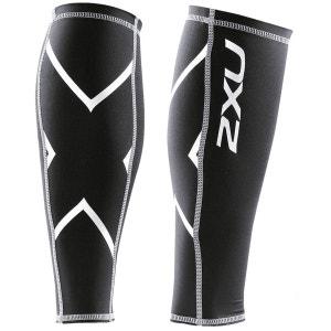 Compression - Chaussettes course à pied - blanc/noir 2XU