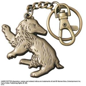 Harry Potter - Porte-clés métal Hufflepuff 7 cm NOBLE COLLECTION