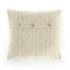 Aker Cable Knit Cushion Cover La Redoute Interieurs