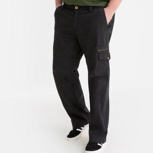 Sportswear broek in zuiver katoen