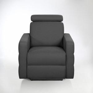 Elektrische relax zetel in halfgevlochten katoen, Hyriel La Redoute Interieurs
