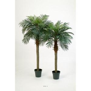 Palmier Phoenix H 150 cm 1 tronc 21 feuilles artificiel ARTIFICIELLES