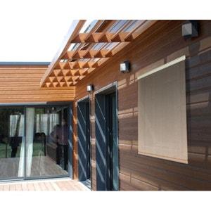 Store d'ombrage 120 x H 180 cm Sable - 165g/m² JARDIDECO