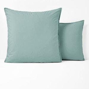 Taie oreiller percale de coton biologique La Redoute Interieurs