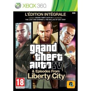 Grand Theft Auto IV - Edition Intégrale XBOX 360 ROCKSTAR GAMES