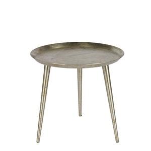 Table basse vintage métal vieilli L Delight DRAWER