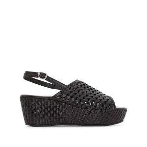 Sandales cuir compensées WOUDA KICKERS