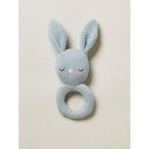 Hochet lapin crochet CYRILLUS