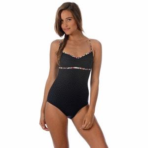 Gładki strój kąpielowy jednoczęściowy BANANA MOON