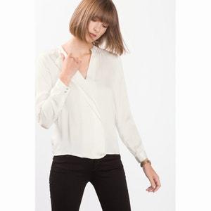 Bluse mit asymmetrischem Kragen ESPRIT