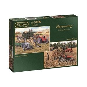 2 Puzzles 500 pièces : Harvesting DISET