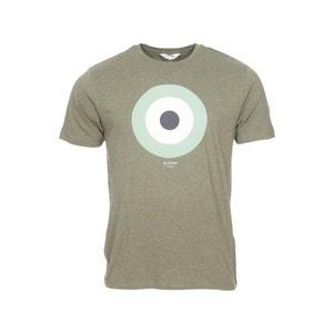 Tee-shirt col rond   The Target en coton vert chiné coton BEN SHERMAN