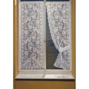 Rideau coton blanc la redoute - La redoute rideaux bonne femme ...