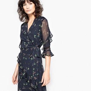 robe imprimée à volants MADEMOISELLE R