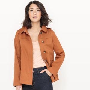 manteau court à capuche R essentiel