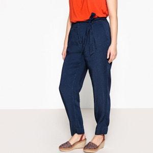 Pantalon large en Lyocell denim CASTALUNA
