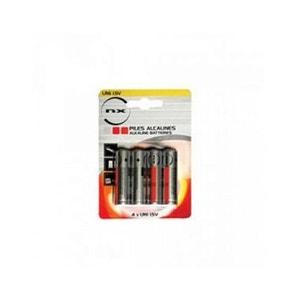 Blister 4 piles Alcaline LR06 NX AA ENIX ENERGIE