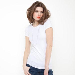 T-Shirt aus Stretch-Jersey, kurze Ärmel R essentiel