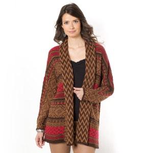 Lang vest in jacquard ANNE WEYBURN