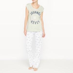 2-delige bedrukte pyjama R édition