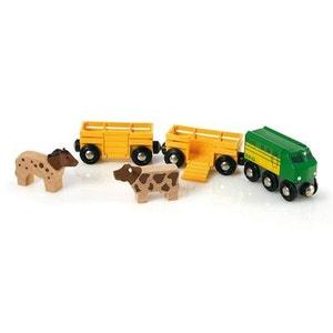 Train Brio : Train des animaux de la ferme BRIO