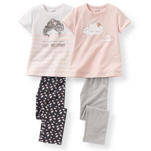 Pijama 2-12 anos (lote de 2) R édition