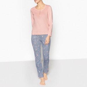 Pyjama détails paillettes La Redoute Collections