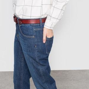 Jeans boyfit stretch, cintura descida R essentiel