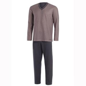 Pyjama homme long en coton et modal Mumbai IMPETUS