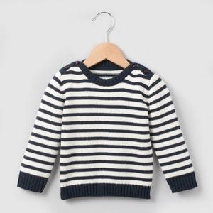 Pullover, gestreift, 1 Monat-3 Jahre R essentiel