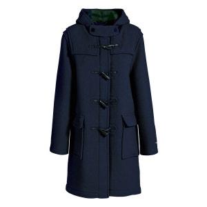 Duffle coat laine made in France DALMARD MARINE