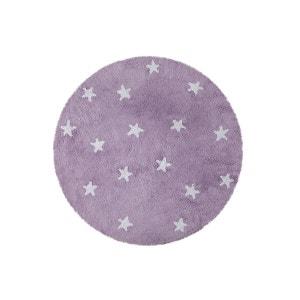 Tapis enfant rond  en coton étoiles hes Lorena Canals D 140 cm LORENA CANALS