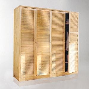 Armario Mayor de pino macizo, Al. 205 cm