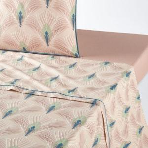 Drap plat imprimé en percale PAMELUNE La Redoute Interieurs