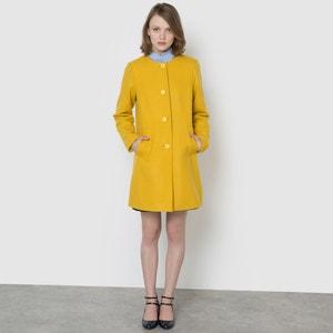 Długi płaszcz 50% wełny MADEMOISELLE R