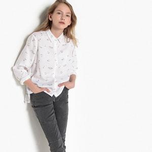 Camisa con motivo 10-16 años La Redoute Collections