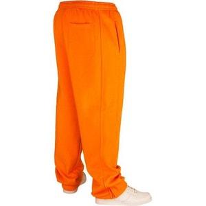 Bas de jogging URBAN CLASSICS Kids Orange Large molletonné URBAN CLASSICS