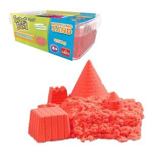 Moulage Super Sand : Sable coloré rouge GOLIATH