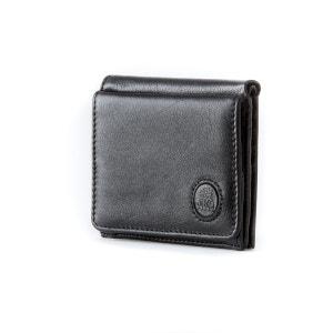 Petit portefeuille pour homme en cuir avec porte-monnaie et porte-cartes de crédit de Nuvola Pelle NUVOLA PELLE