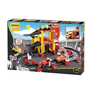 Briques de construction Abrick : Circuit garage F1 ECOIFFIER