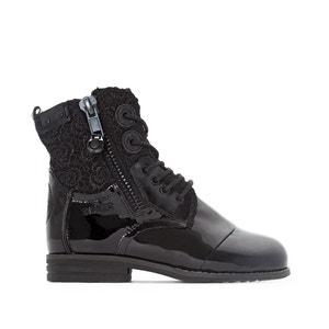 Boots cuir Zip BUNKER