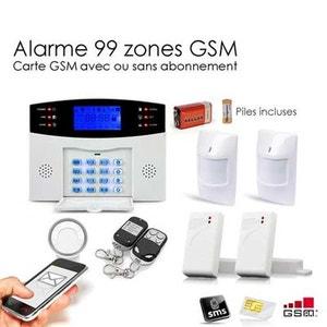 Alarme Maison Sans fil GSM , 99 zones Medium SECURITE GOOD DEAL